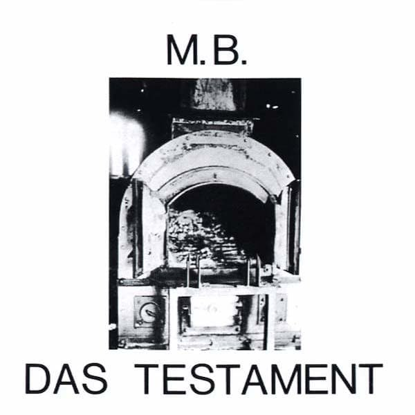 M.B. / Das Testament (CD) Cover