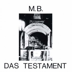 M.B. / Das Testament (CD) - sleeve image