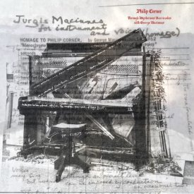 PHILIP CORNER / Through Mysterious Barricades with George Maciunas (LP) - sleeve image