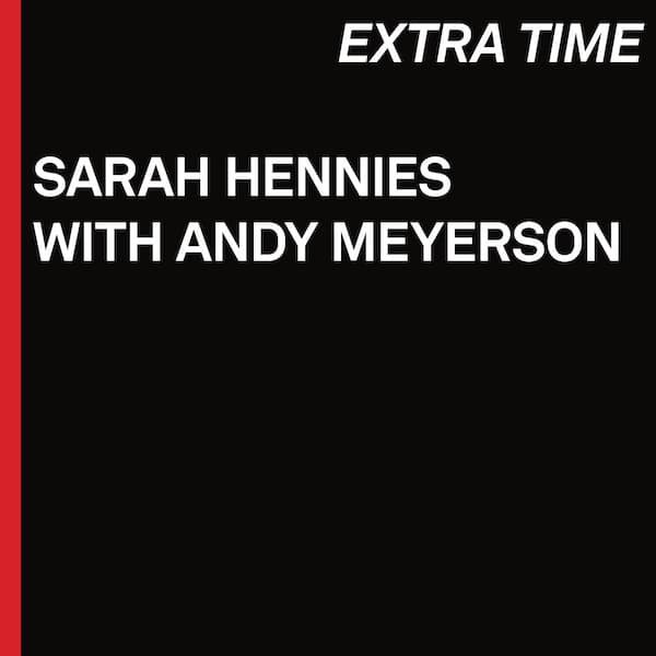 SARAH HENNIES WITH ANDY MEYERSON / Extra Time (CD) Cover