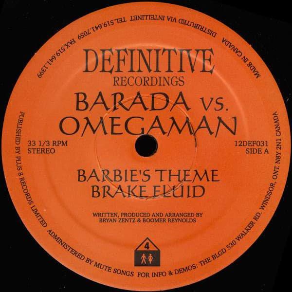BARADA vs. OMEGAMAN / Barbie's Theme (12 inch-used)
