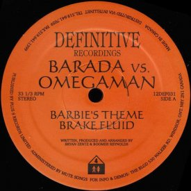BARADA vs. OMEGAMAN / Barbie's Theme (12 inch-used) - sleeve image
