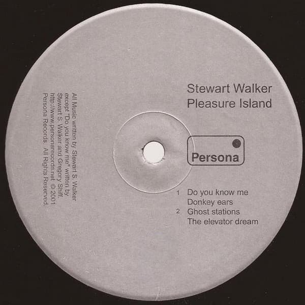 STEWART WALKER / Pleasure Island (12 inch-used) Cover