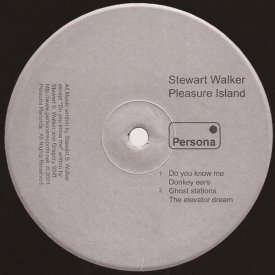 STEWART WALKER / Pleasure Island (12 inch-used) - sleeve image