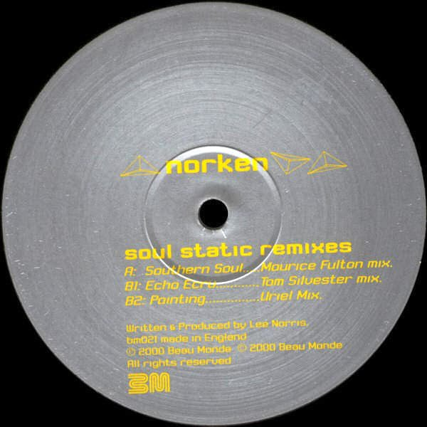 NORKEN / Soul Static Remixes (12 inch-used)