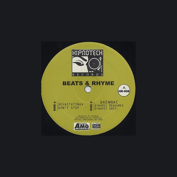 DAENNAC / Beats & Rhyme (12 inch-used)