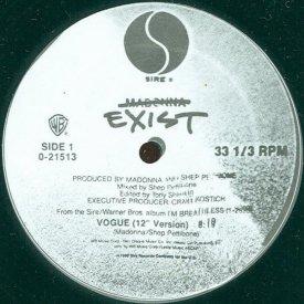 ECTOMORPH / Exist (12 inch-used) - sleeve image