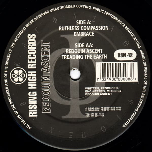 BEDOUIN ASCENT / Reconnect The Thread (12 inch-used)