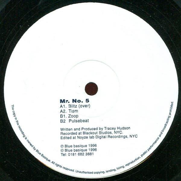 MR. No. 5 / Blitz (12 inch-used)