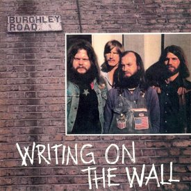 WRITING ON THE WALL / Burghley Road (LP) - sleeve image