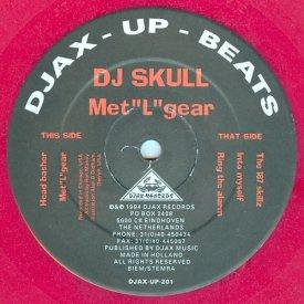 DJ SKULL / Met''L''gear (12 inch-used) - sleeve image