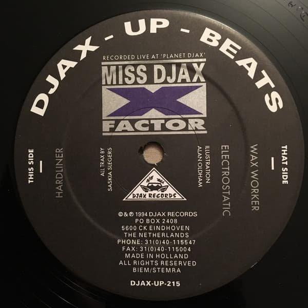 MISS DJAX / X-Factor (12 inch-used)