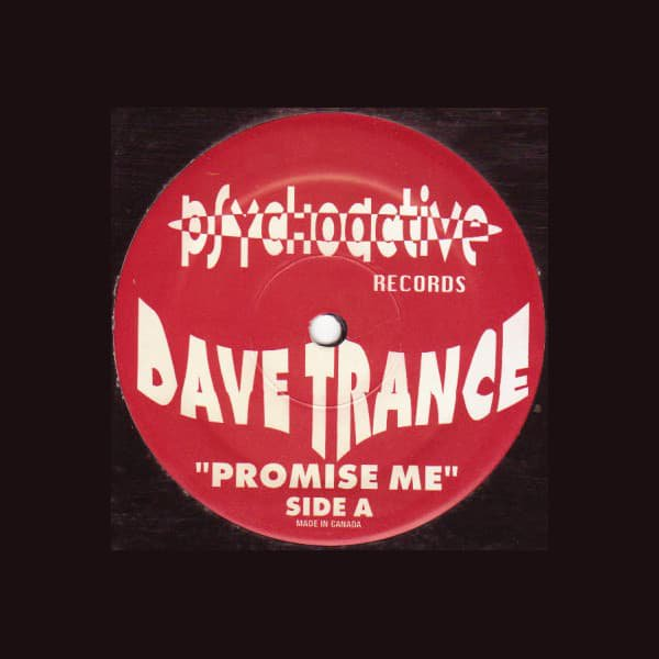 DAVE TRANCE / Promise Me (12 inch-used)