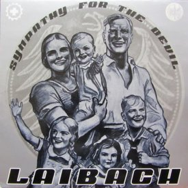 LAIBACH / Sympathy For The Devil (12 inch-used) - sleeve image
