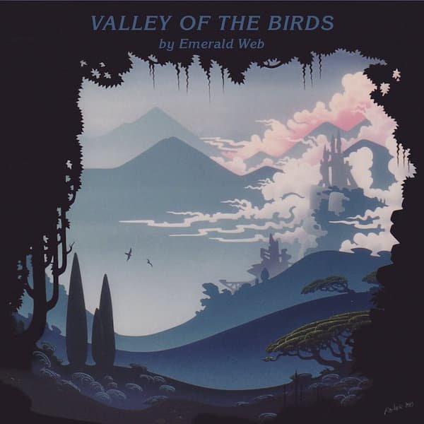 EMERALD WEB / Valley Of The Birds (LP)