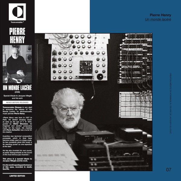 PIERRE HENRY / Un Monde Lacéré (LP)