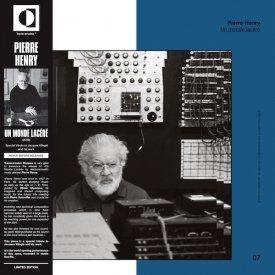 PIERRE HENRY / Un Monde Lacéré (LP) - sleeve image