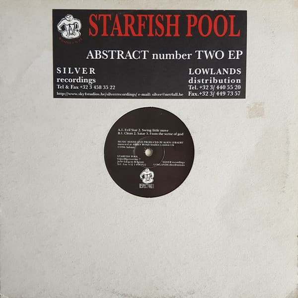 STARFISH POOL / Abstract Number Two EP (12 inch-used)