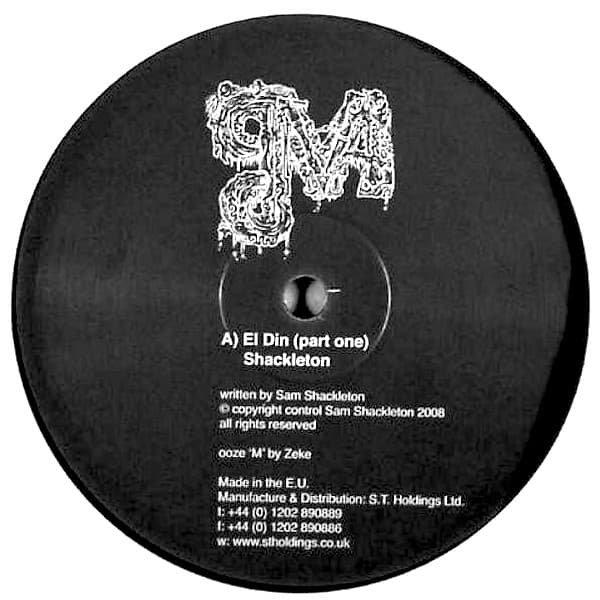 SHACKLETON / MORDANT MUSIC / El Din (Part One) / Olde Wobbly (10''-used)