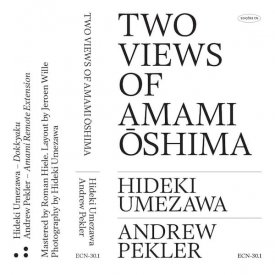 HIDEKI UMEZAWA & ANDREW PEKLER / Two Views Of Amami Oshima (Cassette) - sleeve image