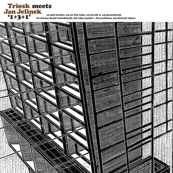 TRIOSK MEETS JAN JELINEK / 1+3+1 (LP+DL)