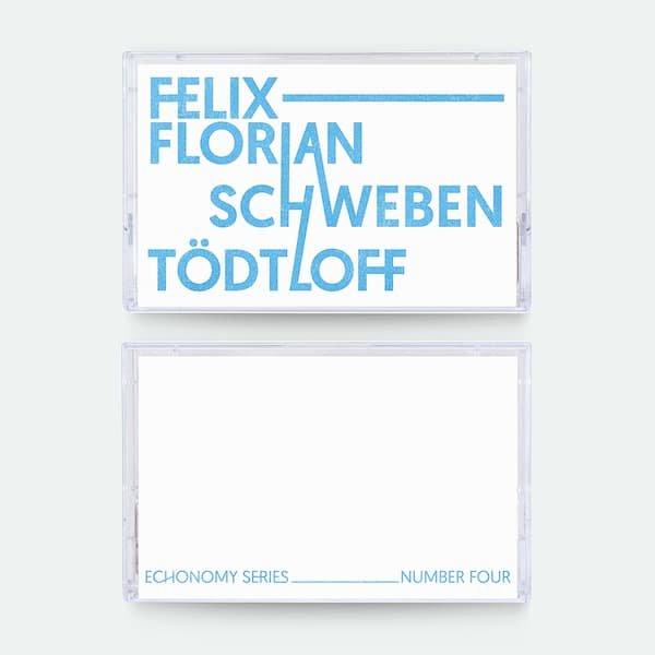 SCHWEBEN / FELIX-FLORIAN TODTLOFF / Echonomy Split Series #4 (Cassette)