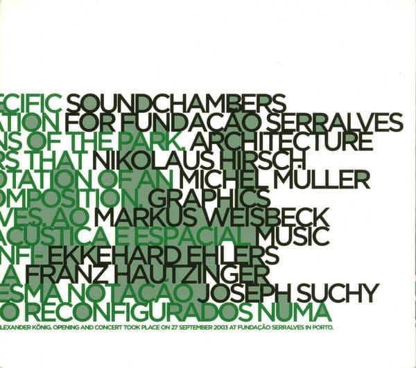 EKKEHARD EHLERS / FRANZ HAUTZINGER / JOSEPH SUCHY / Soundchambers (CD-used)