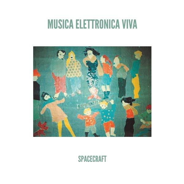 MUSICA ELETTRONICA VIVA / Spacecraft (LP color vinyl)