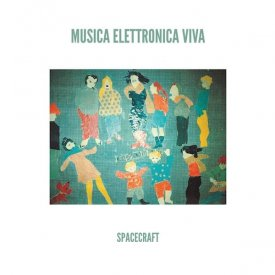 MUSICA ELETTRONICA VIVA / Spacecraft (LP color vinyl) - sleeve image