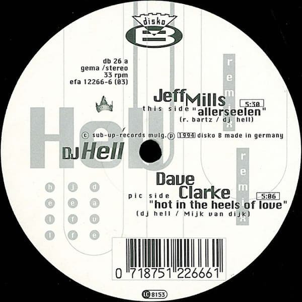 DJ HELL / Hell Argere Dich Nicht (12 inch-used)