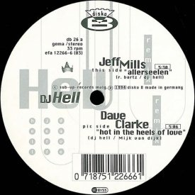 DJ HELL / Hell Argere Dich Nicht (12 inch-used) - sleeve image