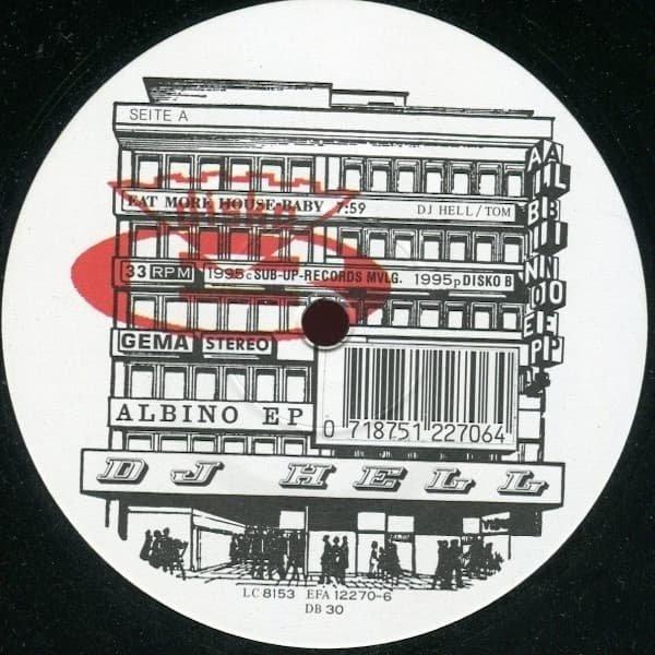 DJ HELL / Albino EP (12 inch-used)