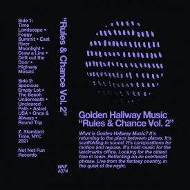 GOLDEN HALLWAY MUSIC / Rules & Chance Vol. 2 (Cassette) - sleeve image