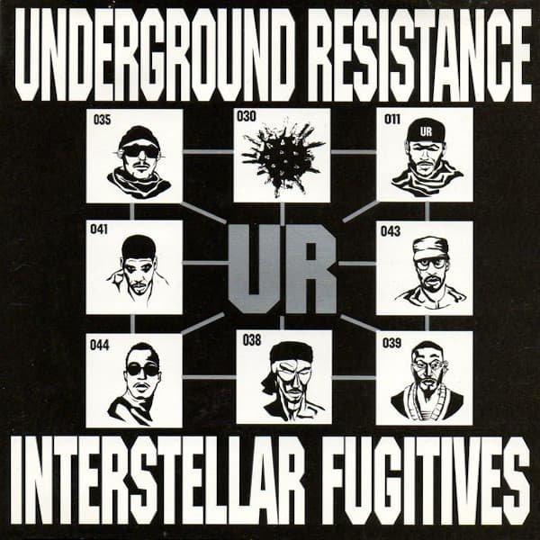 UNDERGROUND RESISTANCE / Interstellar Fugitives (CD-used)