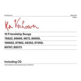 KEN VERHOEVEN & LIEVEN MARTENS / 10 Friendship Songs (CD+Book) - sleeve image