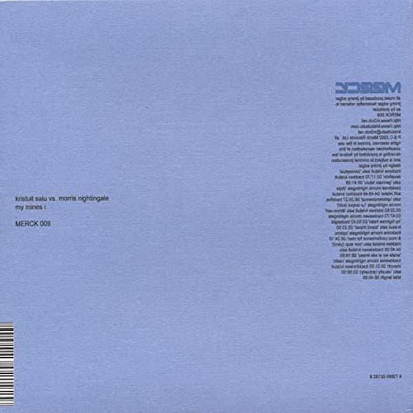 KRISTUIT SALU vs. MORRIS NIGHTINGALE / My Mines I (CD-used)