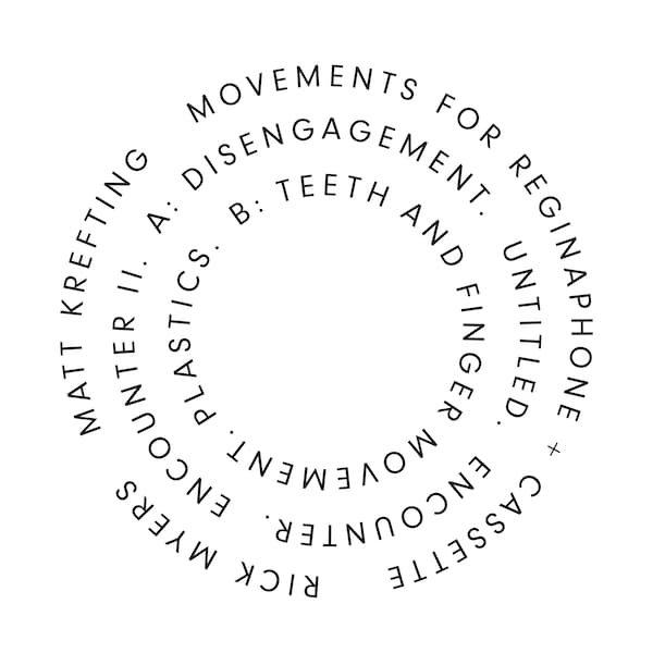 RICK MYERS, MATT KREFTING / Movements For Reginaphone + Cassette (LP)