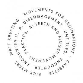 RICK MYERS, MATT KREFTING / Movements For Reginaphone + Cassette (LP) - sleeve image