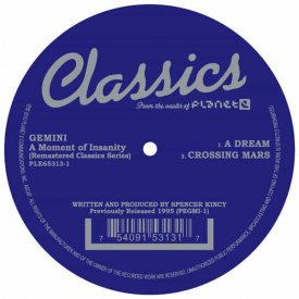 GEMINI / A Moment Of Insanity (12 inch)