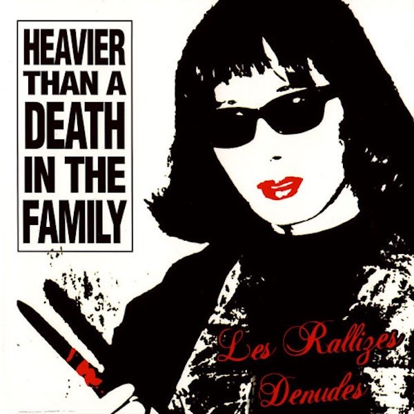 LES RALLIZES DENUDES (裸のラリーズ) / Heavier Than A Death In The Family (CD/2LP) - sleeve image