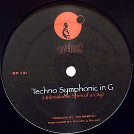 THE MARTIAN / Techno Symphonic In G (12 inch)