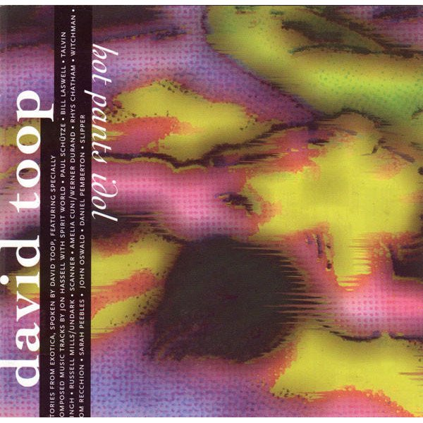 DAVID TOOP / Hot Pants Idol (CD) - sleeve image