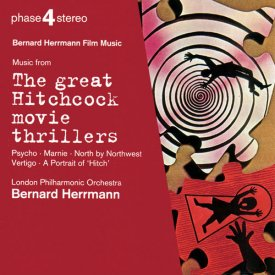 BERNARD HERRMANN / the great HITCHCOCK movie thrillers (CD)
