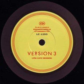 LIIMA (Ilpo Vaisanen aka Pan Sonic) / Version 3 - 4 (10 inch)