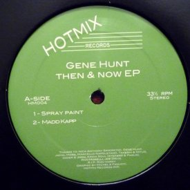 GENE HUNT / Then & Now EP (12 inch)
