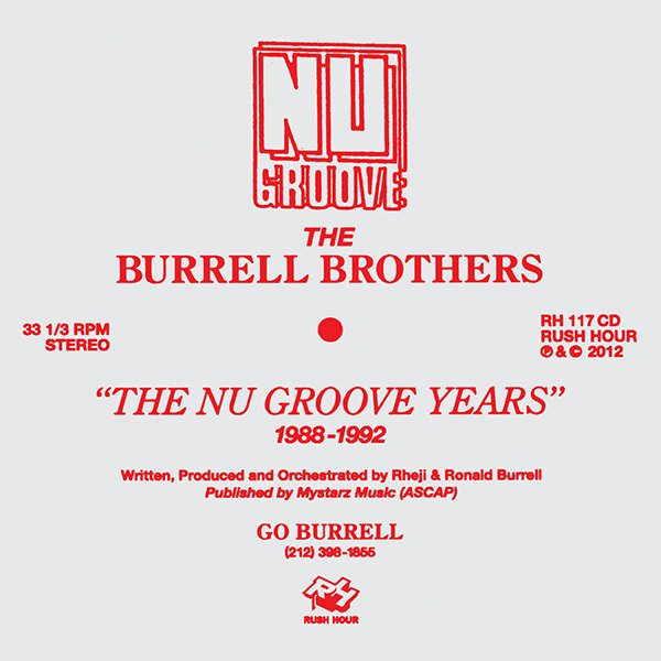 THE BURRELL BROTHERS / The Nu Groove (CD)