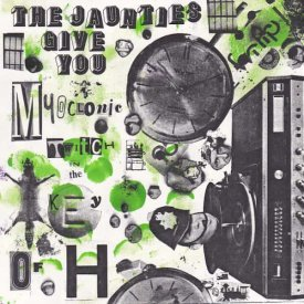 THE JAUNTIES / Myoclonic Twitch In The Key Of H (CD) - sleeve image