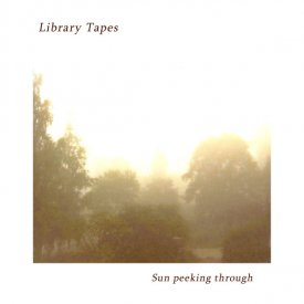 LIBRARY TAPES / Sun Peeking Through (CD)