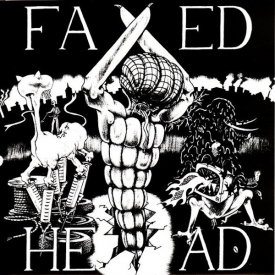 FAXED HEAD / Necrogenometry EP (7 inch)
