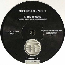 SUBURBAN KNIGHT / The Groove (12 inch)